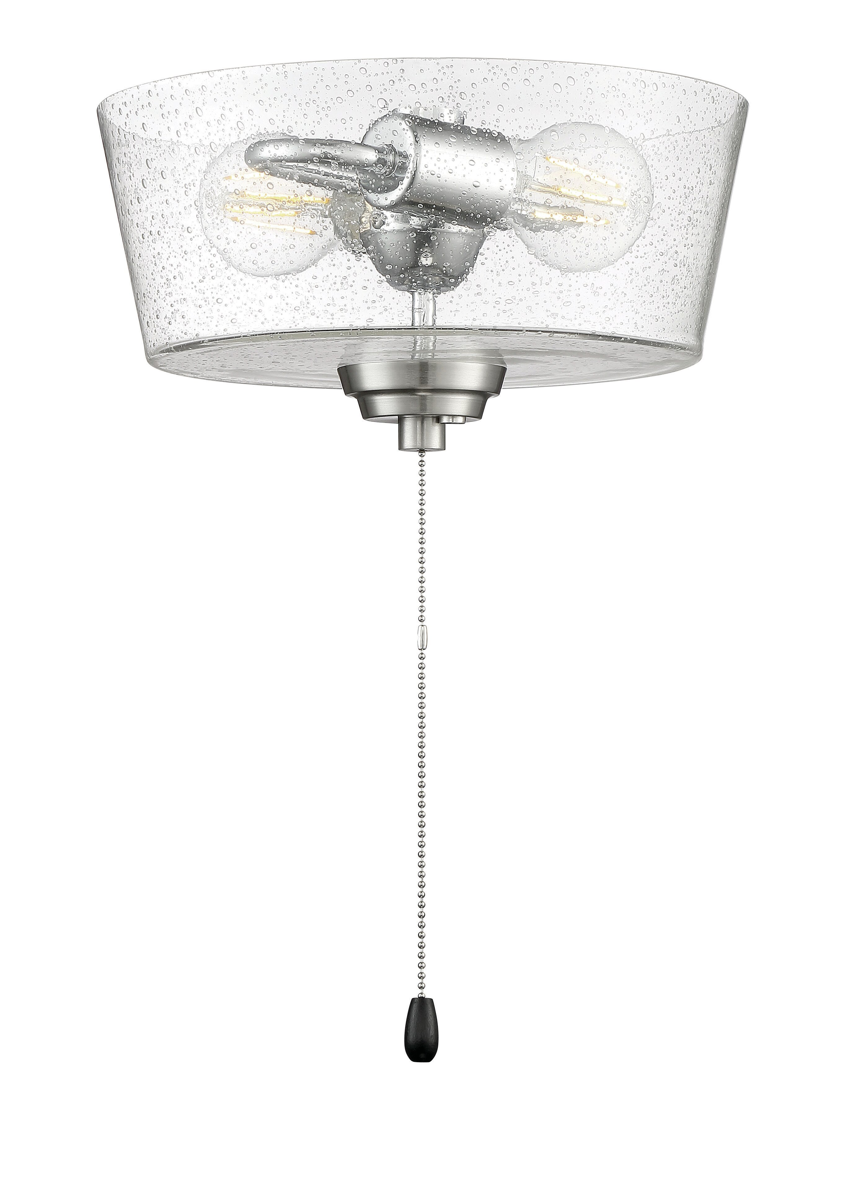 Breakwater Bay 2 Light Universal Ceiling Fan Bowl Light Kit Reviews Wayfair