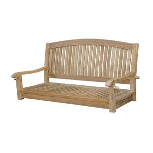 Del-Amo Round Swing Teak Garden Bench