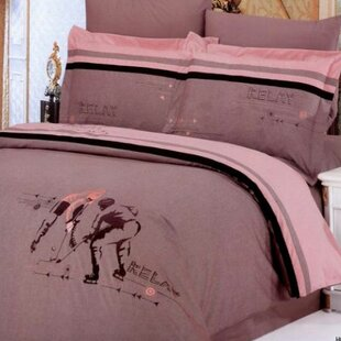 Le Vele Hockey 6 Piece Full/Queen Duvet Cover Set