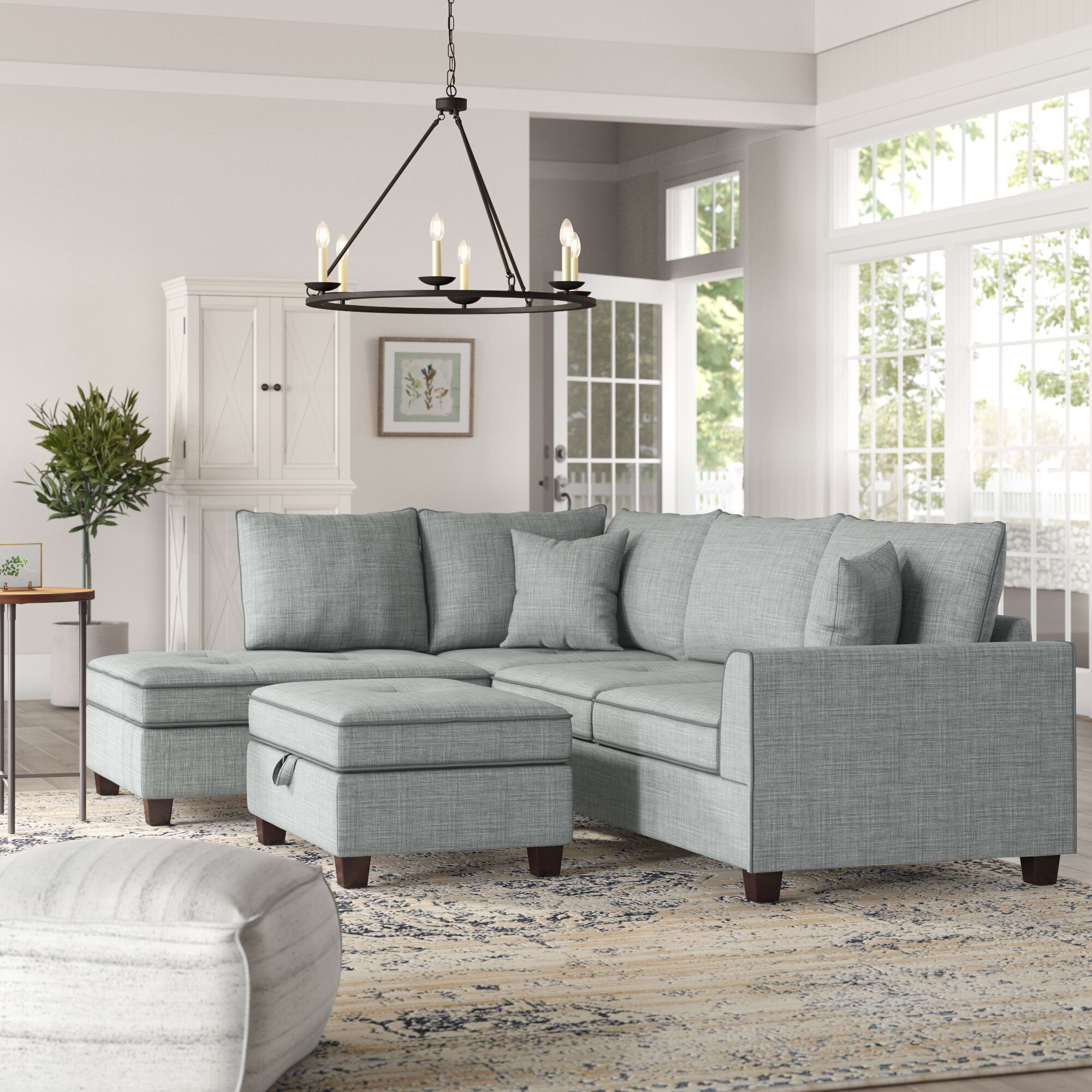 Grey Sectionals Sectional Couches You Ll Love In 2020 Wayfair