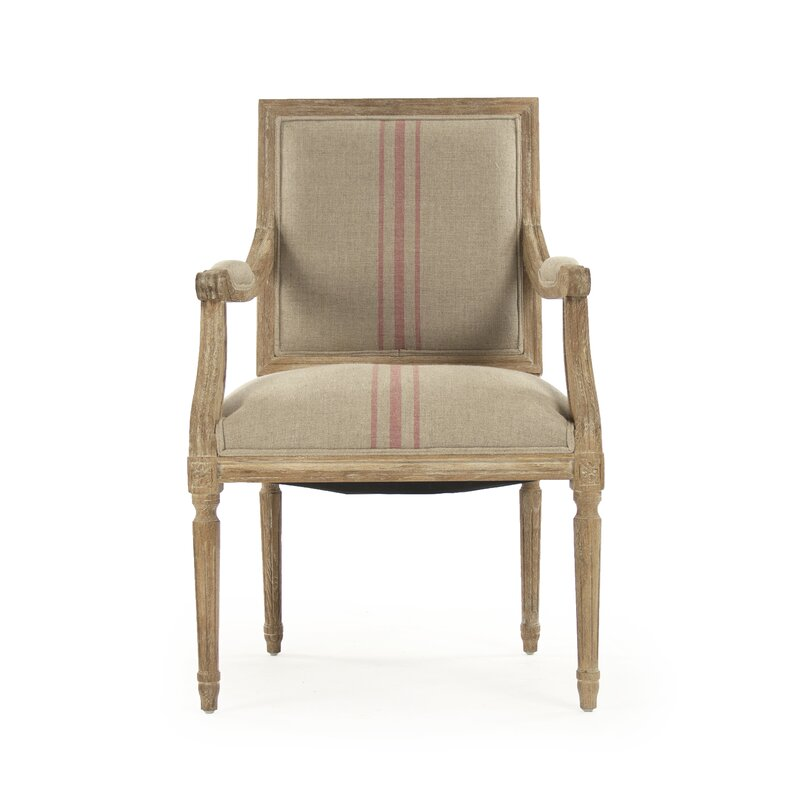 Julien Armchair - Come explore ideas for a French farmhouse living room!
