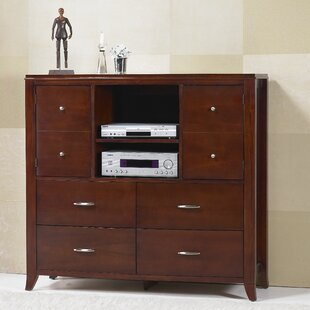 Travis 4 Drawer Media Chest