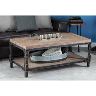 Compare Wood Coffee Table By Cole & Grey