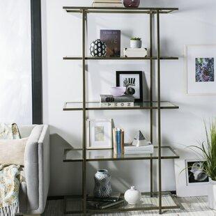 Gossett 5-Tier Etagere Bookcase Ivy Bronx