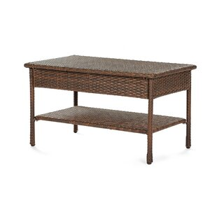 Depriest Outdoor Garden Rattan Coffee Table