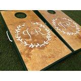 10 Piece Laurels Custom Cornhole Board Set