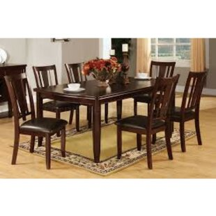 Moran Transitional 9 Piece Solid Wood Pub Dining Set