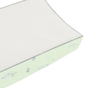 Best Reviews Tranquil Woods Contour Changing Pad Cover By babyletto