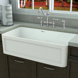 Fireclay Kitchen Sinks You\'ll Love | Wayfair