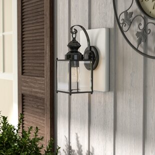 Three Posts Amesville 1-Light Outdoor Wall Lantern