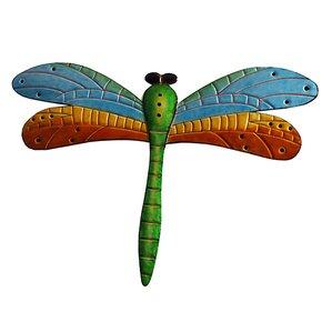 Dragonfly Wall Decor purple dragonfly decor | wayfair