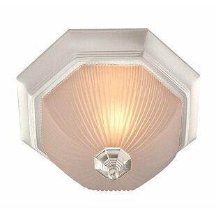 Decorative 3-Light Flush Mount by Monument