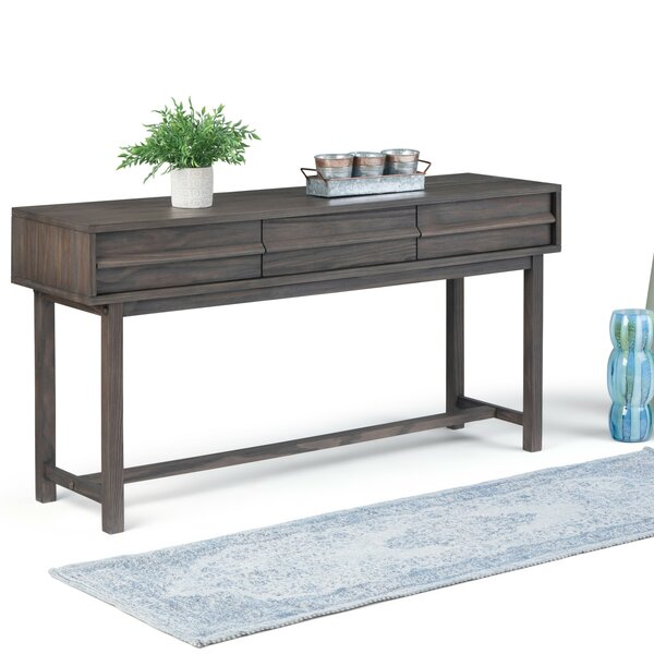 Extra Wide Console Table Wayfair