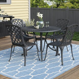 Darby Home Co Lomax 5 Piece Dining Set