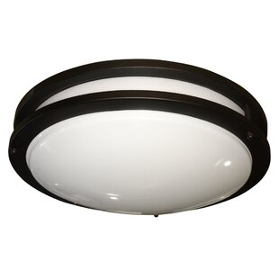Quattlebaum 1-Light Flush Mount By Winston Porter