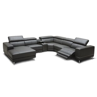 Ringgold Leather Reclining Sectional