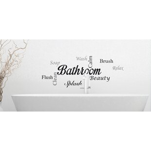 Genial Home Decor Line Bathroom Quote Wall Decal