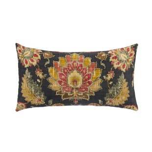 Velda Tan Linen Back Lumbar Pillow