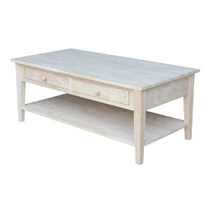 Greenbrier Coffee Table by Rosecliff Heights