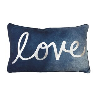 Footman Love Reversible Lumbar Pillow