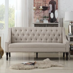 Christiansburg Tufted Sofa by Alcott Hill