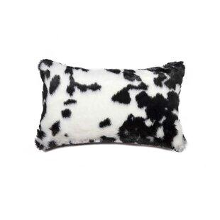 Settle Faux Fur Lumbar Pillow