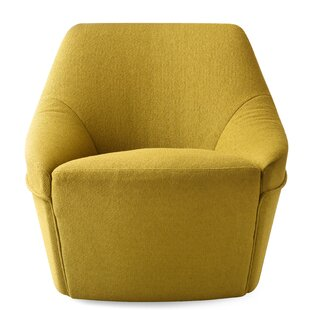 Alma Swivel Arm Chair by Calligaris
