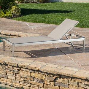 Durbin Aluminum Chaise Lounge