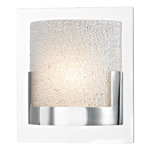 Ivy Bronx Colchester 1-Light LED Bath Sconce