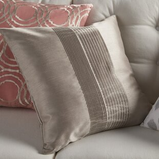 Amazing Arber Pleated Throw Pillow Cover