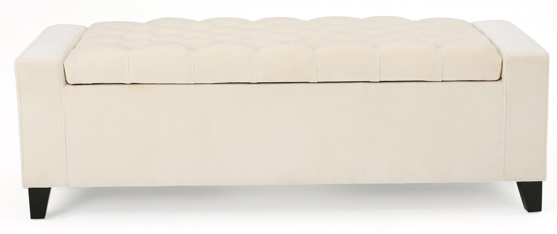 Awesome Ilchester Upholstered Storage Bench