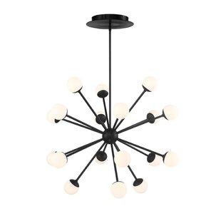 Pellston 18-Light LED Sputnik Chandelier by George Oliver