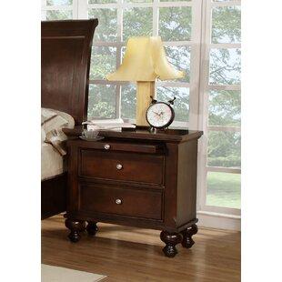 Wildon Home ® Asher 2 Drawer Nightstand