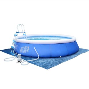 Emerald 10-Person 1-Jet Inflatable Plug And Play Spa By Symple Stuff