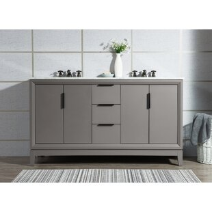 Tappahannock 60 Double Bathroom Vanity Set by Ivy Bronx