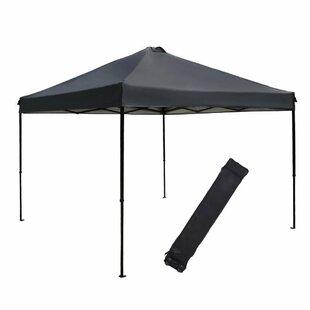 Abba Patio 10 Ft. W x 10 Ft. D Metal Pop-Up Canopy