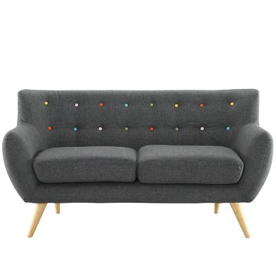 Grey Loveseats You Ll Love Wayfair