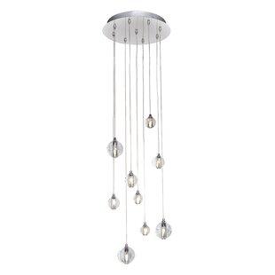 Capricorn 9-Light LED Pendant by Orren Ellis