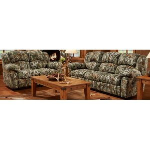 camo 2 piece living room set