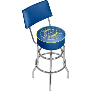 Chevy Super Service 31 Swivel Bar Stool Trademark Global