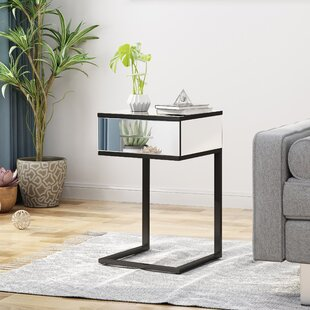 Arend End Table with Storage