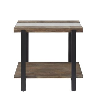 Poppe End Table by Union Rustic