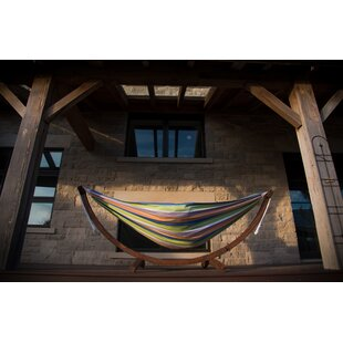 Freeport Park Kelsi Cotton Double Hammock with Stand