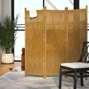 Josephine 63 X 60 3 Panel Bamboo Room Divider By Beachcrest Home