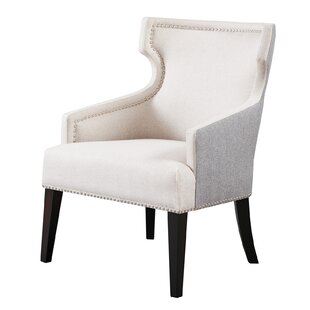 Everett Wingback Chair by Madison Park Signature