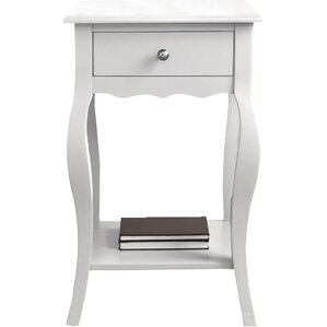Elvina End Table With Storage