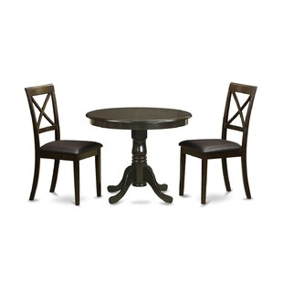 3 Piece Dining Set by East West Furniture Fresh