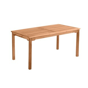 Review Alyshia Teak Dining Table