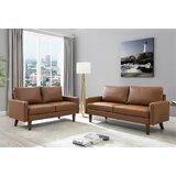 Piedmt 2 Piece Living Room Set by Wrought Studio™