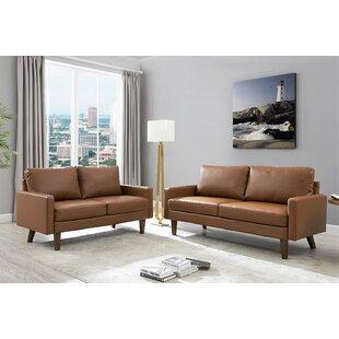 Crooker 2 Piece Living Room Set by Orren Ellis